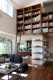 Interior:Small Home Library Designs With Old Standing Clock And L Shaped  Shelves Ideas Inspiring