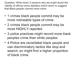 three ways of measuring crime 9 question write