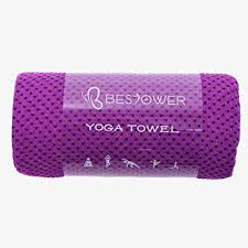 yoga towel by bestower yoga mat towel for hot yoga pilates bikram