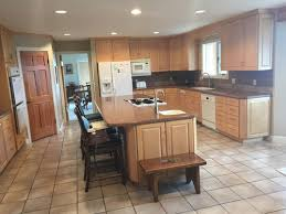 remodel kitchen and keep maple cabinets