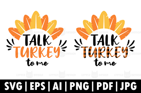 You can copy, modify, distribute and perform the work, even for commercial purposes, all. Talk Turkey To Me Graphic By Glint Design Creative Fabrica