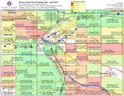 downtown denver neighborhoods map including denver's best