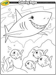 Small Picture Shark Coloring Page crayolacom