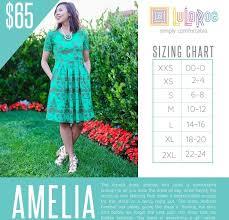 Amelia Lularoe Size Chart In 2019 Lularoe Amelia Dress