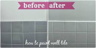 painting floor tiles before and after painting bathroom tile before and after can you paint tile bathroom walls