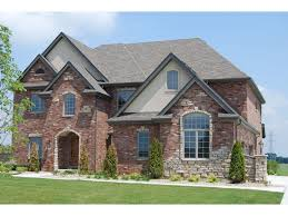 Exterior Stone For Homes Brick And Stone Exterior Custom Front . in Stones  For Home Exterior