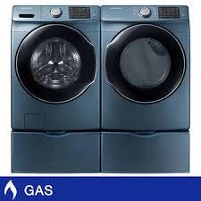 Samsung 4.5CuFt Capacity Steam Washer 7.5CuFt GAS Multi-Steam Dryer with  Sensor Dry