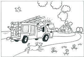 Firetruck Coloring Page 488websitedesigncom