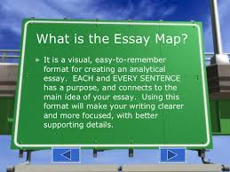 essay map what is the essay