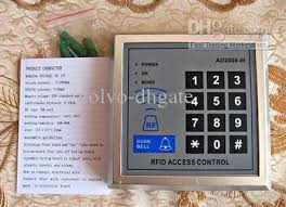 rfid proximity entry door lock access control system  12 user manual