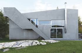 home elements and style medium size prefabricated concrete norwegian villa discover scandinavia outdoor fireplace slabs