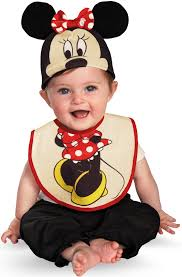 minnie mouse bib and hat baby costume mr costumes
