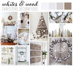 Decorate a little differently this holiday with Whites + Wood // Non-Traditional  Christmas