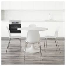 white dining table and chairs ikea lovely docksta leifarne 4 105