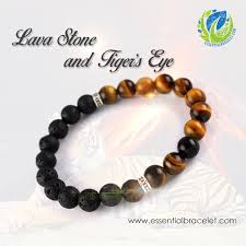 lava tiger s eye lava stone essential oil bracelet