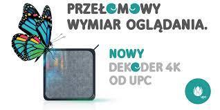 UPC zmienia oblicze cyfrowej rozrywki, wprowadzając przełomowy dekoder 4K TV  BOX