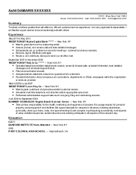 Sample Resume: Direct Care Counselor Resume Exles Near.