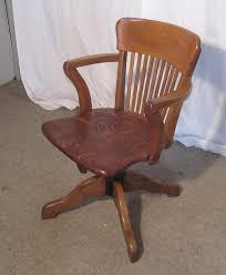 edwardian oak office or desk chair antiques atlas antique oak office chair