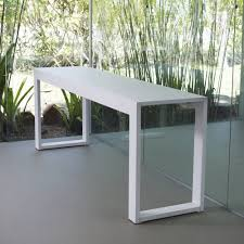 modern white console table. Best Extra Long Console Table Sale For Your Interior Decor: Modern White H