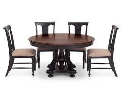 bridgeport 5 pc round dining room set