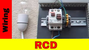 how to wire residual current device (rcd) youtube legrand rccb wiring diagram at Legrand Rccb Wiring Diagram