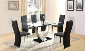 dining room tables for 6 glass dining table and 6 chairs dining room set