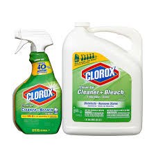 Bottle Of Bleach Clorox Clean Up Cleaner With Bleach Spray Bottle Refill 212 Oz