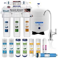 Drinking System Top 5 5 Stage Home Drinking Reverse Osmosis System Plus Extra Full