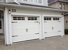 garage door widthsStandard double garage door size with carriage style  Garage