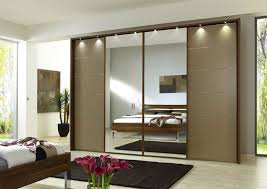 design wardrobe with mirror sliding doors systems factory installed perfectly clever glass panels part material