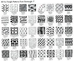 Easy Zentangle Patterns Enchanting Printable Beginner Zentangle Patterns Free Coloring Pages Pattern As