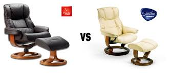 What s the difference between Stressless and Fjords Hjellegjerde