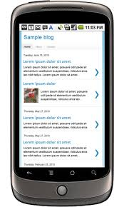 Blogger Mobile Template Blogger Buster Mobile Templates Available For Blogger