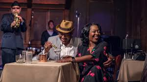 couple seated at chris jazz cafe