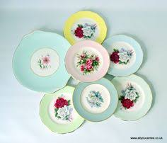 1950'S Dinnerware Patterns Awesome 48 Best English Bone China Dessert Plates Images On Pinterest Bone