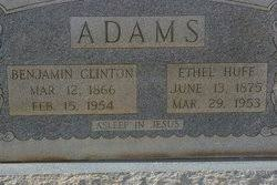 Doris Ethel Huff Adams (1875-1953) - Find A Grave Memorial