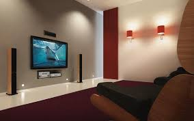 Small Picture Beautiful Flat Screen On Wall Design Ideas Photos Home Design