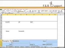 Das kalkulationsschema zeigt die einzelnen kostenbestandteile eines hergestellten produktes an. Kochrezepte Rezepte Kalkulieren Excel Vorlage