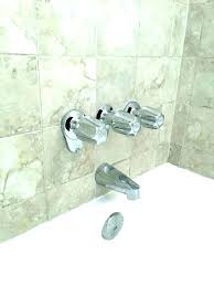 3 handle tub shower faucets faucet brushed nickel pfister 3 handle tub and shower faucet