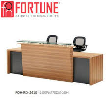 office reception table. Wood Modern Office Reception Table With High Quality Foh-Rd-2410 (2) N