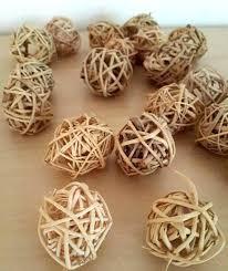 Decorative Balls For Bowl Uk Unique decorative wicker balls thecreekatbukitco