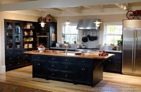 kitchens with black cabinets. Impressive Black Kitchen Cabinets Fantastic Modern Interior Ideas With Pictures Of Kitchens Traditional