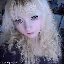 venus palermo angelic living doll eye makeup skin care blonde hd hq pics