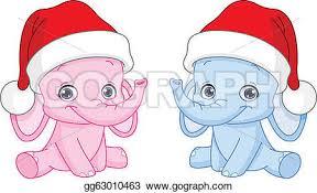christmas elephant clip art. Modren Christmas Christmas Baby Elephants Inside Elephant Clip Art E