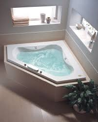 corner jacuzzi tub and tubs pertaining to decor 2