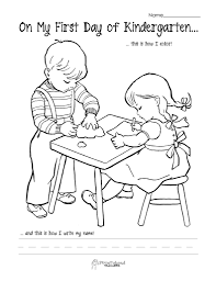 first day of kindergarten a in First Day Of Kindergarten Coloring Page 791x1024 first day of kindergarten a in first day of kindergarten coloring on first day of kindergarten worksheets