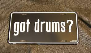 details about drummers percussion gifts got drums metal license plate great drummer gift new