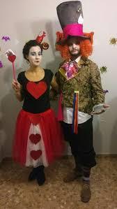 disfraz sombrerero loco y reina de corazones fancy dressqueenhearts