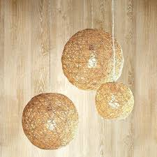 ball lamp how to make hemp twine ball lamp crafts ball pendant lamp shade