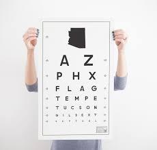 Constructed Matter Az Eye Chart